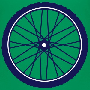 A bicycle tire  Shirts - Teenage Premium T-Shirt
