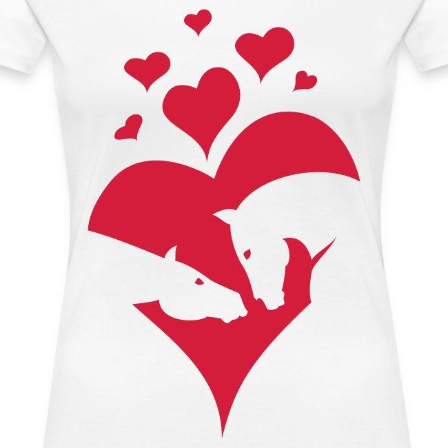 Pferde Liebe Valentinstag