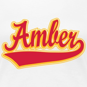 Amber - Name as a sport swash T-Shirts - Women's Premium T-Shirt