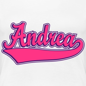 Andrea - Name as a sport swash T-Shirts - Women's Premium T-Shirt