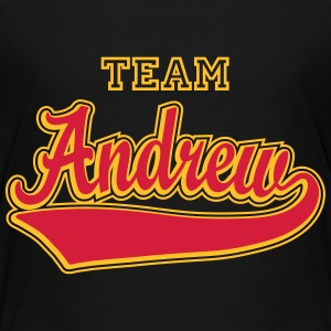 Andrew - Name as a sport swash  Shirts - Teenage Premium T-Shirt