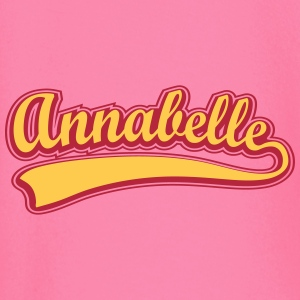 Annabelle - Name as a sport swash Long Sleeve Shirts - Baby Long Sleeve T-Shirt
