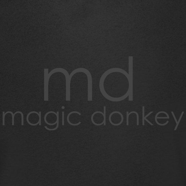 MD V Neck - Black