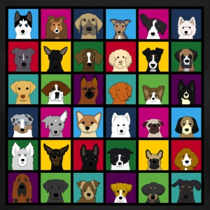 36 dogheads D T-shirts - Dame-T-shirt
