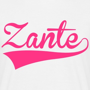 Zante Text 2 T-Shirts - Men's T-Shirt