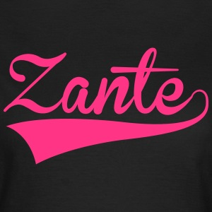 Zante Text 2 T-Shirts - Women's T-Shirt