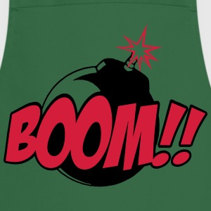 boom - comic sound  Aprons - Cooking Apron