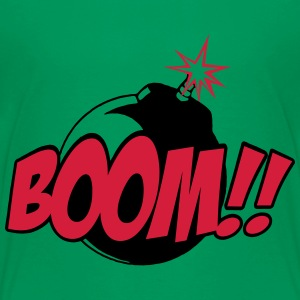 boom - comic sound Shirts - Kids' Premium T-Shirt