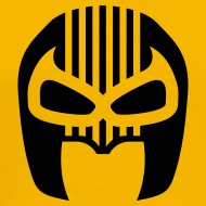 Design ~ Snuff Crew Mask T-Shirt Standard yellow