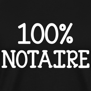 100% Notaire Tee shirts - T-shirt Premium Homme