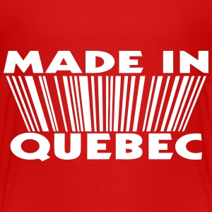 Made in Quebec 3D code Shirts - Kids' Premium T-Shirt