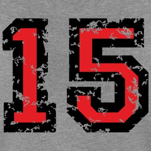 The Number Fifteen - No. 15 (two-color) red T-Shirts - Women's Premium T-Shirt