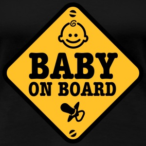 baby on board T-Shirts - Women's Premium T-Shirt