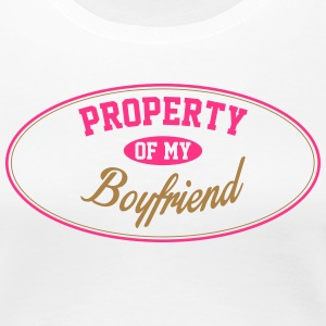 PROPERTY OF MY BOYFRIEND T-Shirts - Women's Premium T-Shirt