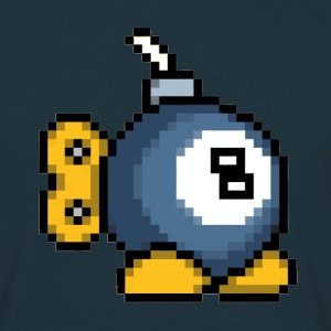 8bit 8ball Bomb T-Shirt - Men's T-Shirt
