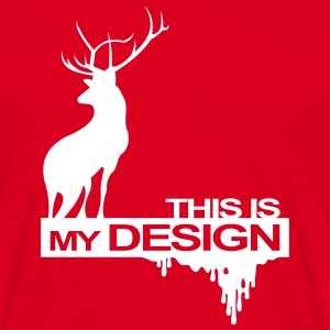 This is my design T-Shirts - Männer T-Shirt