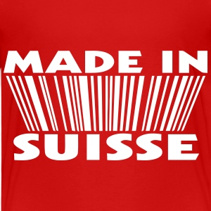 Made in suisse 3D code Shirts - Kinderen Premium T-shirt
