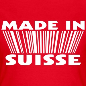 Made in suisse 3D code T-Shirts - Frauen T-Shirt