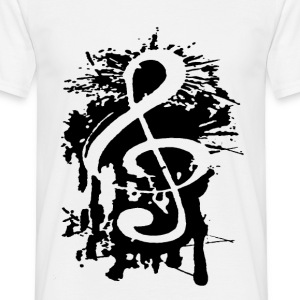 clef de sol Tee shirts - T-shirt Homme