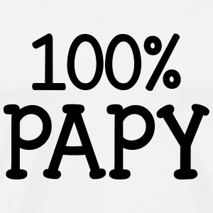 100% Papy Tee shirts - T-shirt Premium Homme