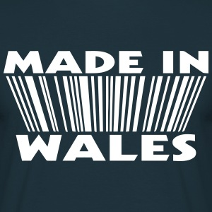 Made in wales 3D code nl T-shirts - Mannen T-shirt