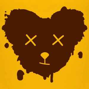 A bear's head as a graffiti blob  Shirts - Kids' Premium T-Shirt