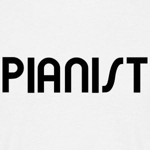 Pianist - Pianiste Tee shirts - T-shirt Homme