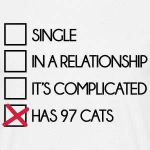 My Relationship Status  T-shirts - Herre-T-shirt