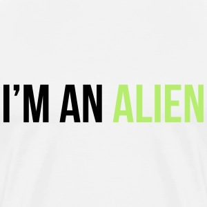 I'm an alien T-Shirts - Men's Premium T-Shirt