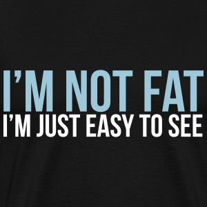 im not fat T-Shirts - Men's Premium T-Shirt
