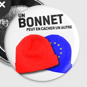 BADGES bonnets rouges 04 - Badge moyen 32 mm