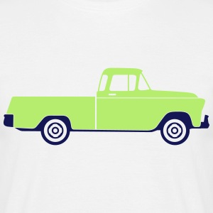 Pickup Truck (2c)++2014 T-Shirts - Men's T-Shirt