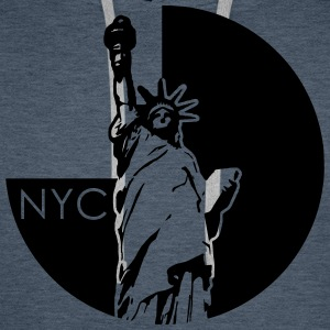 New York Sweat-shirts - Sweat-shirt à capuche Premium pour hommes