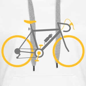 Bicycle (2c)++2014 Hoodies & Sweatshirts - Women's Premium Hoodie