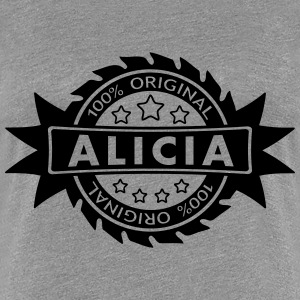 ALICIA star original 1c T-Shirts - Women's Premium T-Shirt