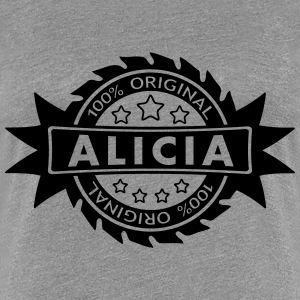 ALICIA star original 1c T-Shirts - Frauen Premium T-Shirt
