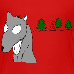 waiting for Little Red Riding Hood Shirts - Kids' Premium T-Shirt