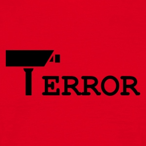 Surveillance is an error - - T-shirt Homme