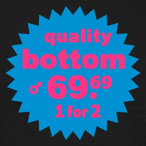quality bottom - Männer T-Shirt