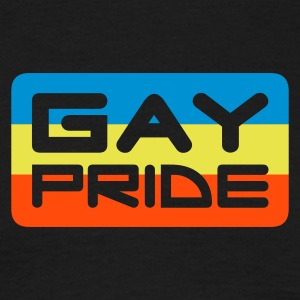 gay pride v1 - T-shirt Homme