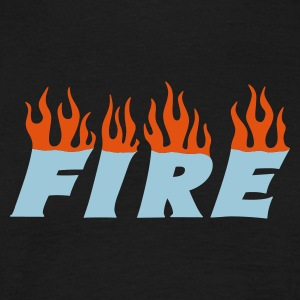 fire - Mannen T-shirt