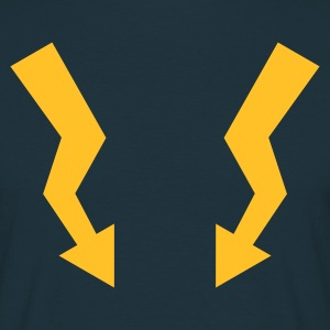 flashes - Mannen T-shirt