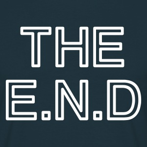 the end - T-skjorte for menn