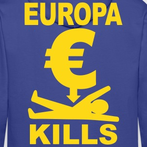 europa euro Sweat-shirts - Sweat-shirt à capuche Premium pour hommes