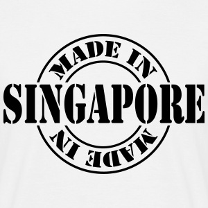 made_in_singapore_m1 T-shirts - Herre-T-shirt