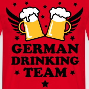 German Drinking team Mass Bier Beer Party T-Shirt - Männer T-Shirt