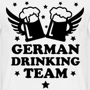 German Drinking team Mass Bier Beer Party 1c love  - Männer T-Shirt