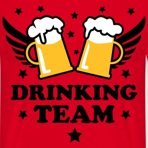 Drinking team International Bier Beer Party Shirt - Herre-T-shirt