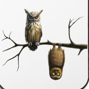 liten ugle (Owls) Etuier for mobil & nettbrett - iPhone 4/4s hard case