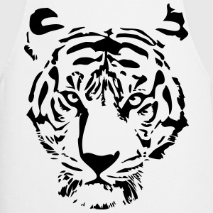 white tiger  Aprons - Cooking Apron